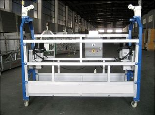 Building Cleaning Suspended Working Platform Steel Material , 250KG Rated Load