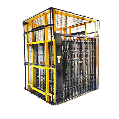 Steel Construction Hoist Elevator , Construction Material Lifting Hoist